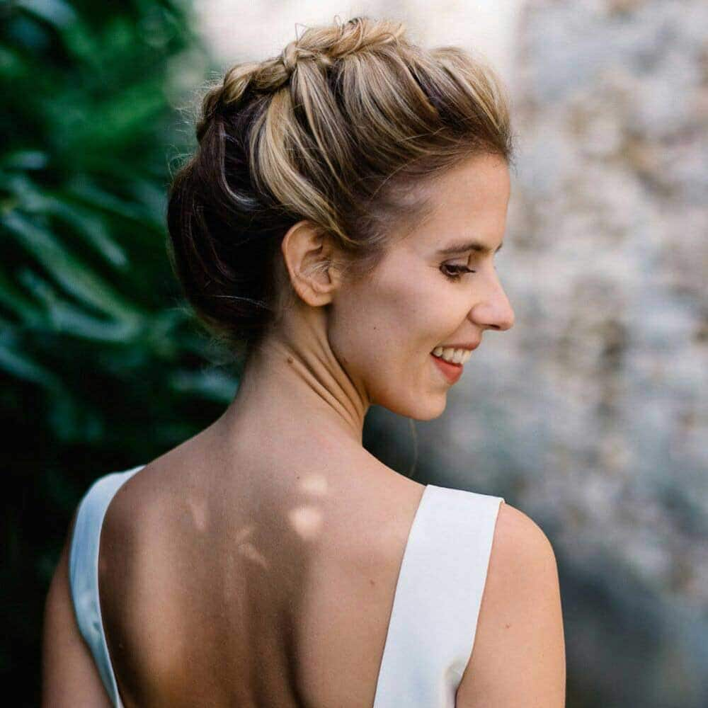 La coiffure de mariage la plus chic du monde