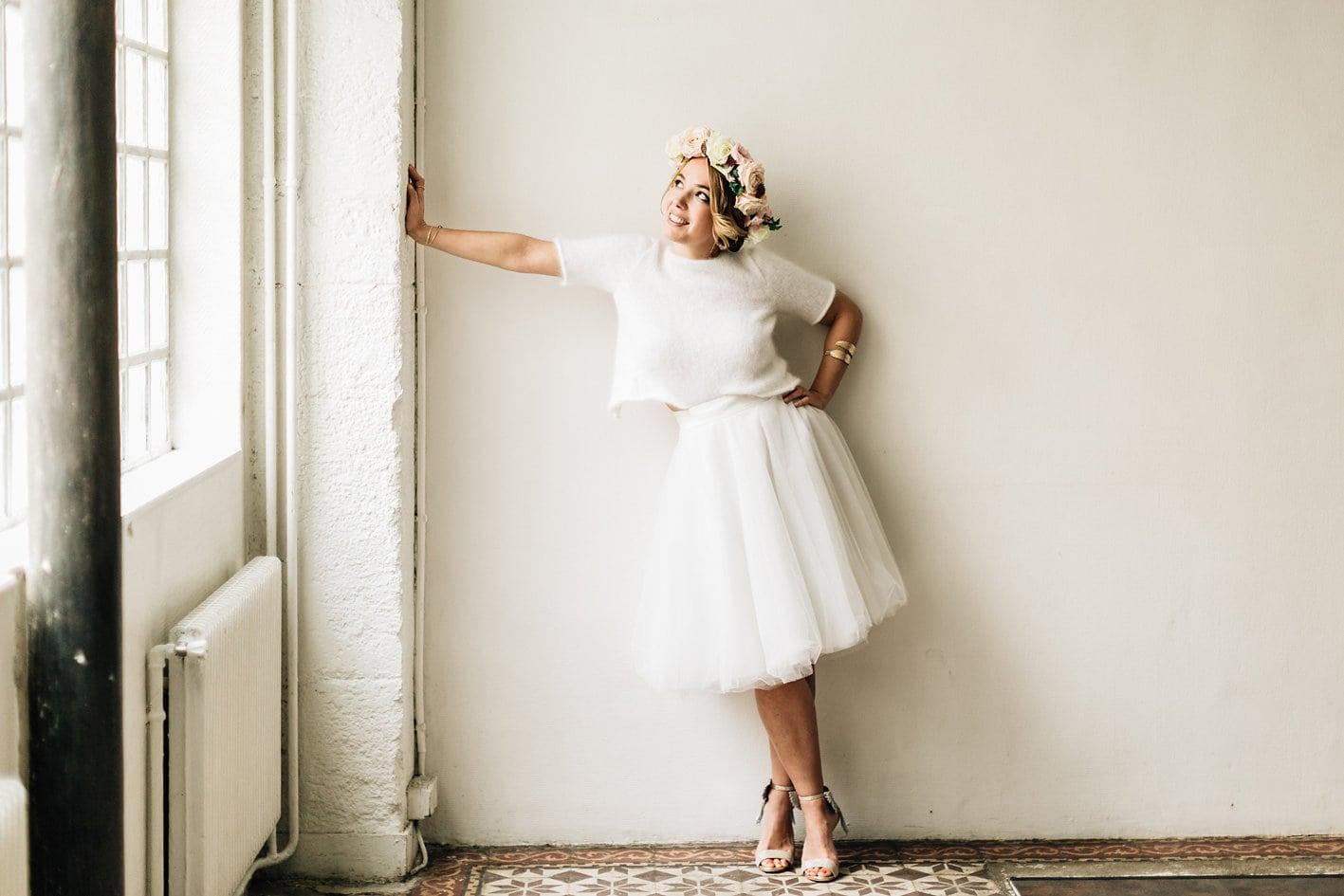 Collection robes de mariée cérémonie civile Mélodie Boitard 2018 acheter en ligne et essayer gratuitement