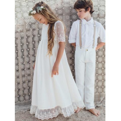 4516bd76b48 Robe fille Thelma Les Petits Inclassables style bohème chic pour mariage