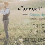 Pivoines and love sera à l'Appart du Mariage samedi 7 avril 2018 à Paris 11ème. Ateliers DIY gratuites, rencontres avec des pros du mariage...