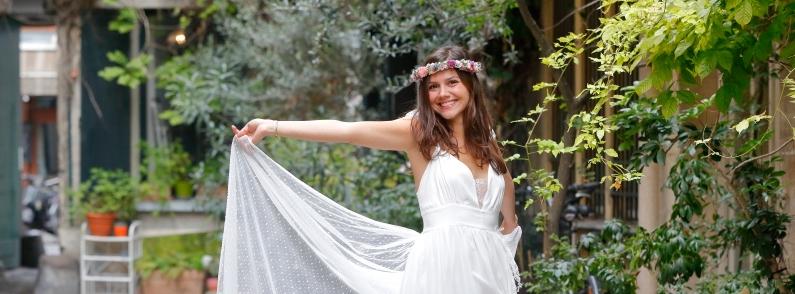 couronnes de fleurs mariée accessoires fleurs mariage
