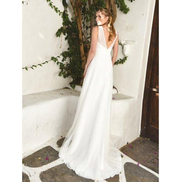 0a68883ff4536 Robe de mariée longue Helena