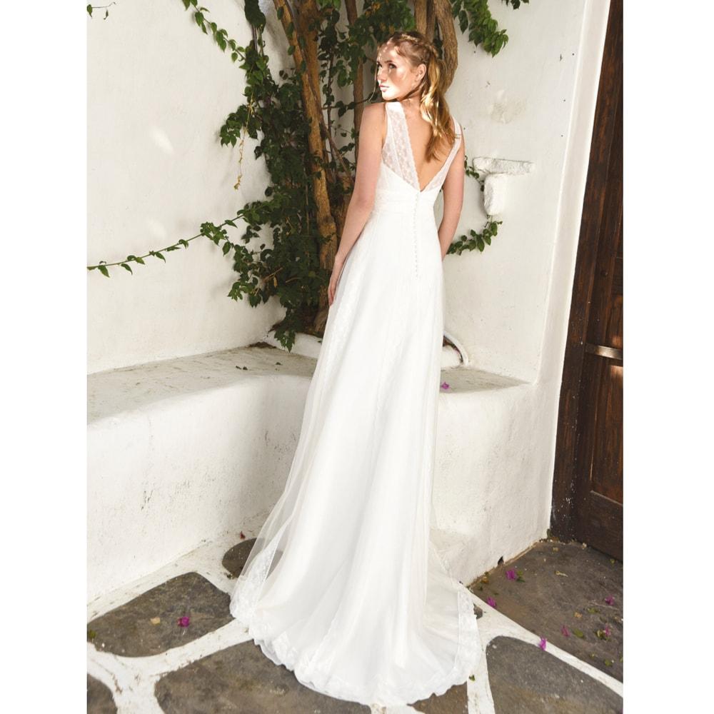 pretty cool cost charm performance sportswear Robe de mariée longue Helena