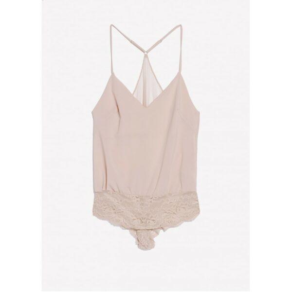 168ee09316d Lingerie Body couleur rose nude Aventurine