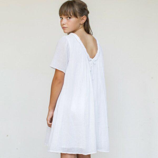 be9144ee4ea34 Robe fille Alice Les Petits Inclassables robe de baptême cérémonie et  cortège pour petite fille.